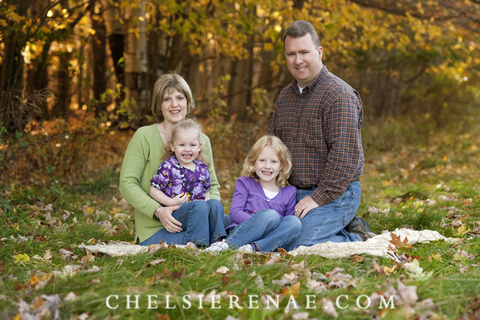 Look no coats!! This beautiful family and I enjoyed the fall weather.