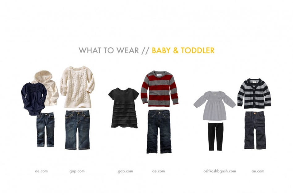 What to Wear Baby and Toddler
