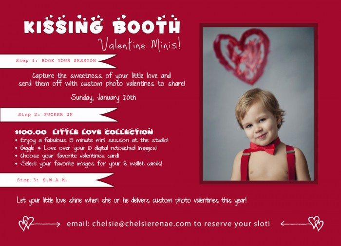 Kissing Booth Valentine S Day Mini Sessions Chelsie Renae Photography