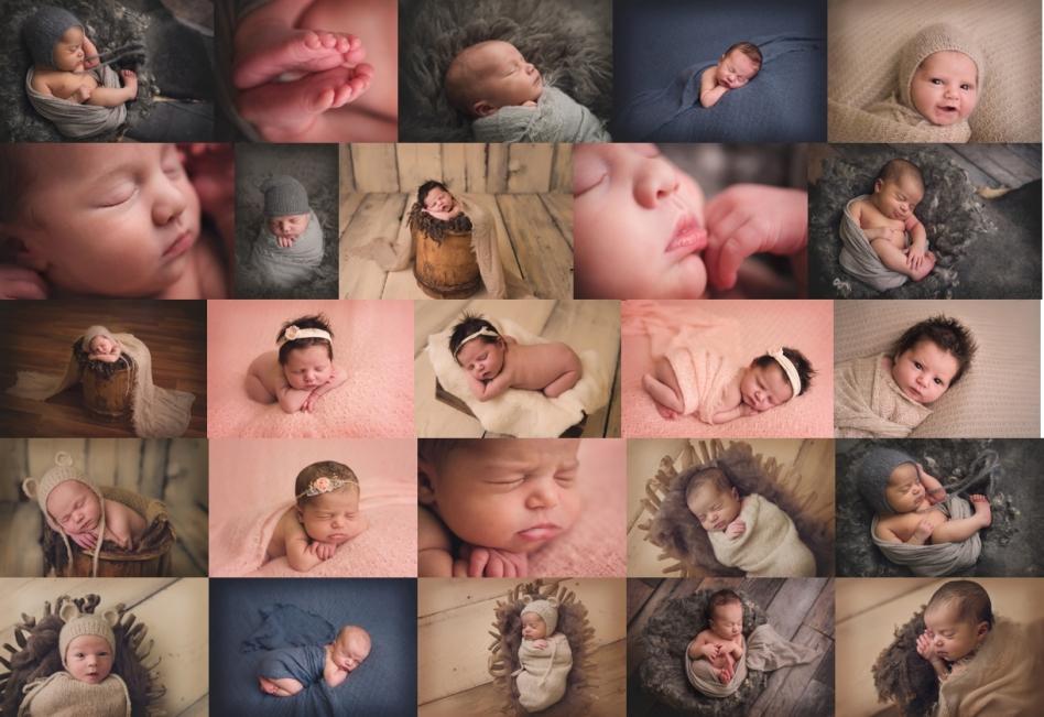 natural organic newborn photography