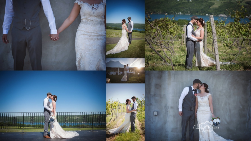 Finger Lakes Wine Country Wedding