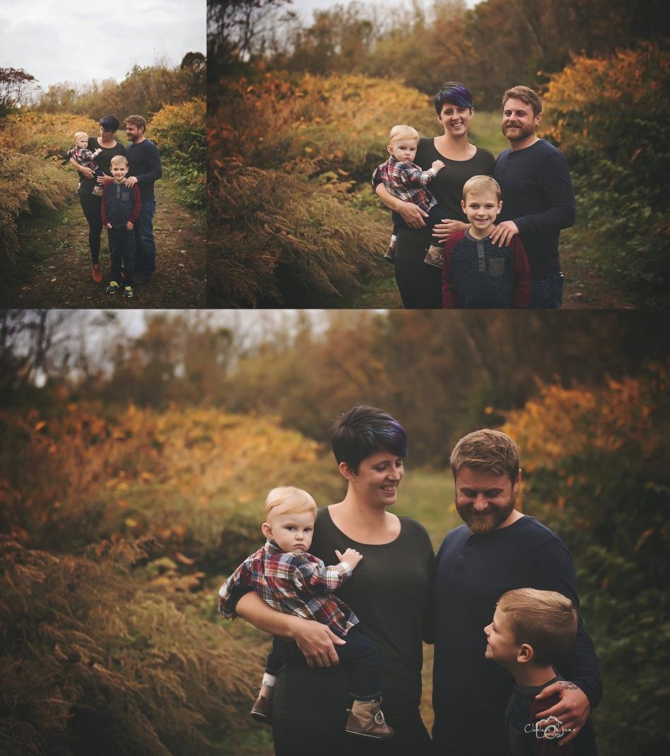 Fall Family Session Western NY