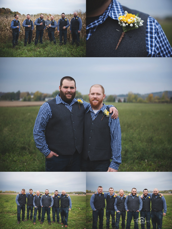 Western Finger Lakes region Rustic Barn Wedding
