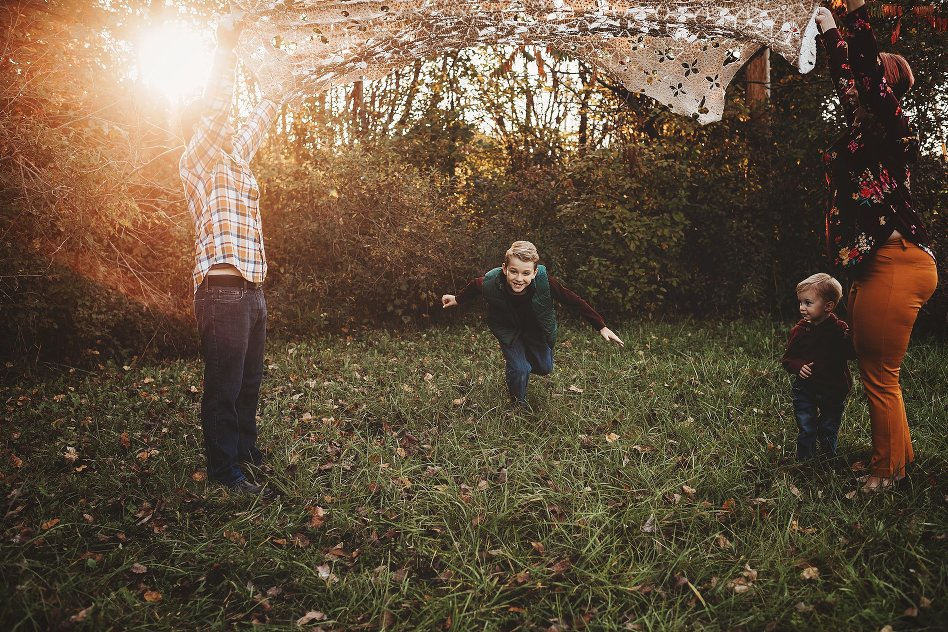 The Kelly Family Fall Session